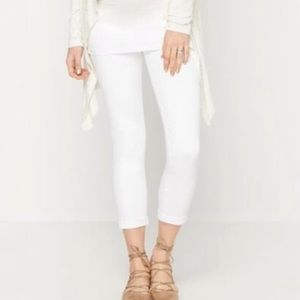 NWT AG Adriano Goldschmied White Maternity 👖Jeans
